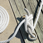 rope coil dock cleat