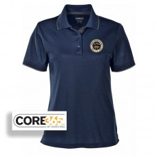 CORE365® women's navy Performance Pique polo shirt