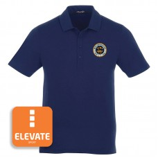 ELEVATE® Men's Vintage Navy Acadia Polo
