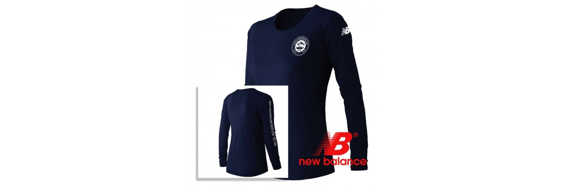 New Balance® performance Women's Long-Sleeve T Shirt