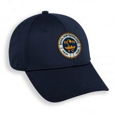 RNYC navy cap with stitched RNYC crest.